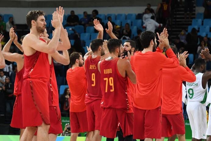 España le ganó a Nigeria en baloncesto masculino en un partido cerrado q...