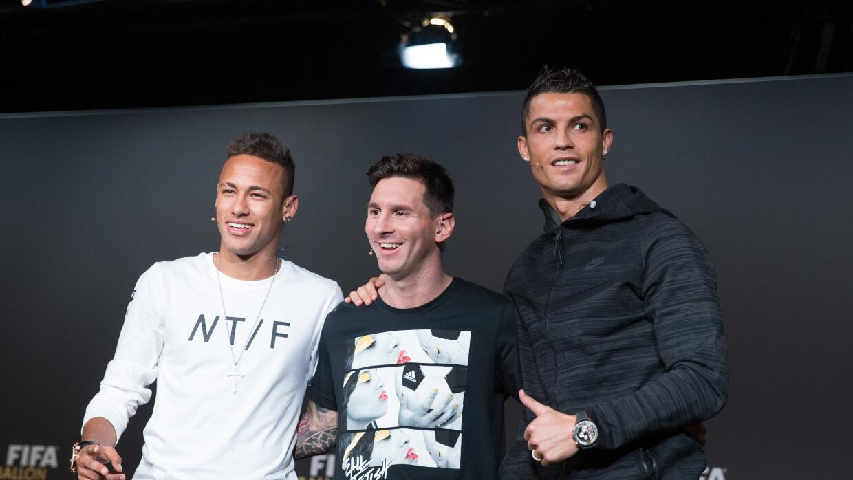 Messi, Cristiano, Neymar