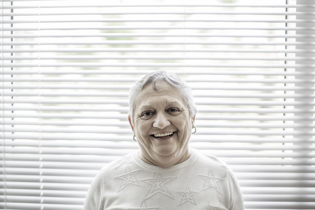 """Nereida González: """"Ayer no pudo caminar porque se le frizan las piernas...."""