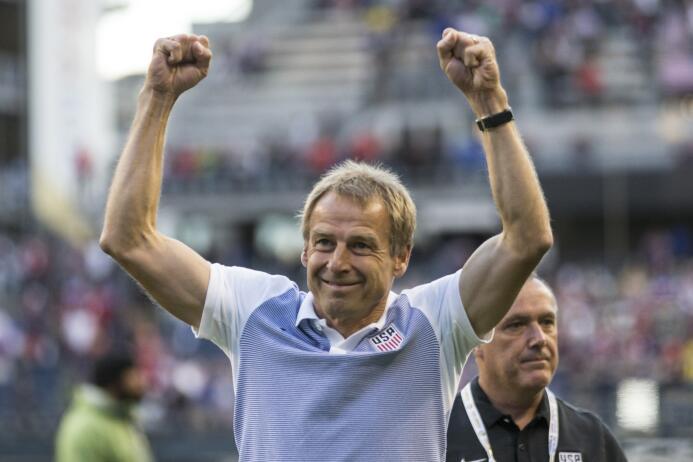 El camino de Jurgen Klinsmann como DT de Estados Unidos GettyImages-5408...