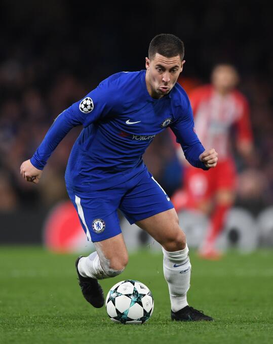 19. Eden Hazard (Chelsea / Bélgica)