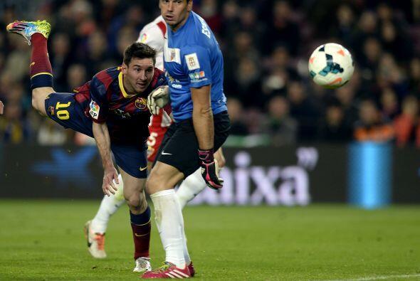 Los barcelonistas recibirían un gol por parte de la visita casi de inmed...