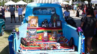 Así celebraron el 'Día de Muertos' en el Centro Cultural Mexico-Americano de Austin