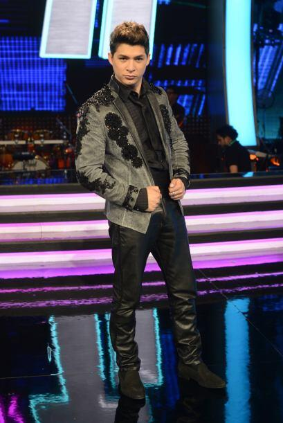 Danny Montejo durante la sexta gala.