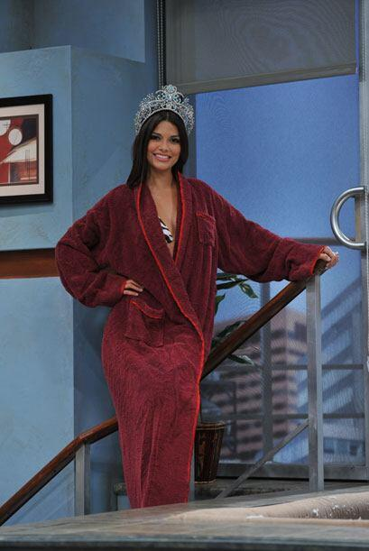 Ana Patricia González es la nueva reina y llegó al 'jacuzzi' con todo y...