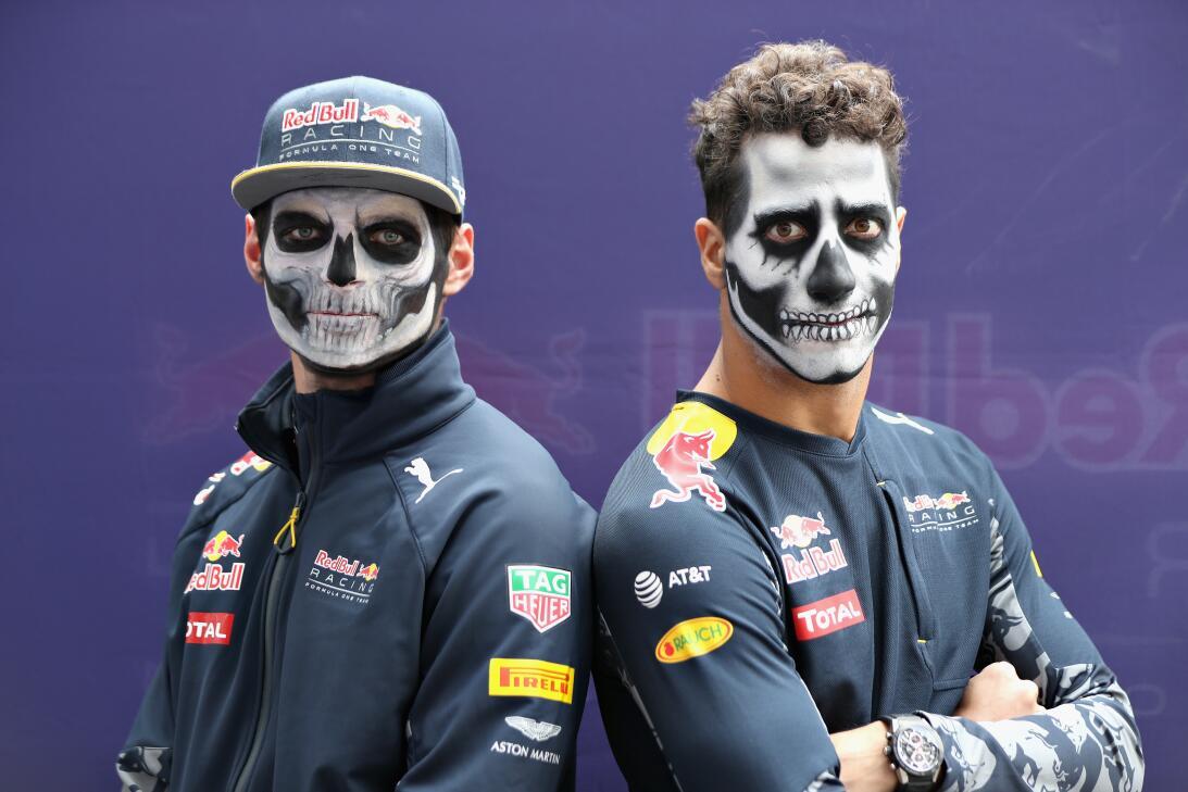 La F-1 vive ya el Día de los Muertos en el GP de México GettyImages-6185...