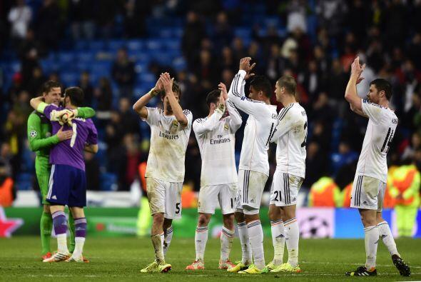 De cualquier modo, el 3-0 final pone con pie y medio al Madrid en semifi...