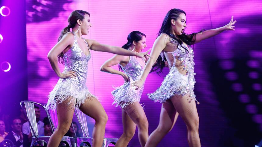 Las mejores imágenes de la primera gala de Mira Quién Baila.
