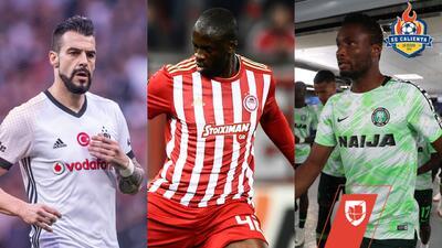 ¿Se anima algún equipo de la Liga MX? 10 jugadores que están libres en el mercado de Europa