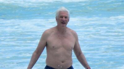 Richard Gere de vacaciones en Tulum