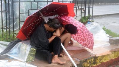 El tifón en Filipinas deja 25,000 daminificados