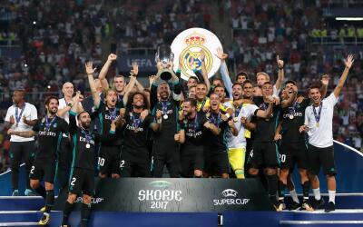 Real Madrid, campeón de la Supercopa de Europa 2017