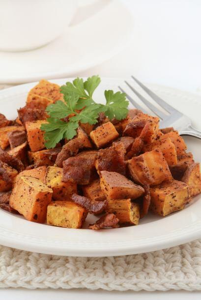 8. Camotes al grill con romero. Con muy pocos ingredientes y en poco más...
