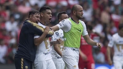 """""""Estamos callando bocas"""", aseguró Carlos González tras el triunfo de Pumas ante Toluca"""