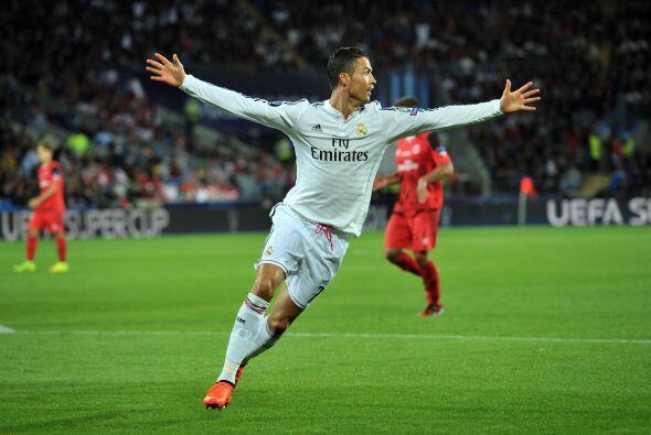 Al minuto 4 de iniciado el complemento un disparo de Cristiano Ronaldo n...