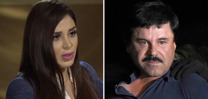 "Entrevista a esposa de ""El Chapo"""