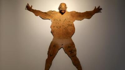 Las esculturas del artista mexicano Renato Garza fueron expuestas recien...