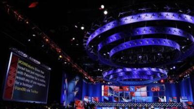 Escenario del debate en Las Vegas
