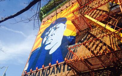 Biggie Small fue recordado en Brooklyn