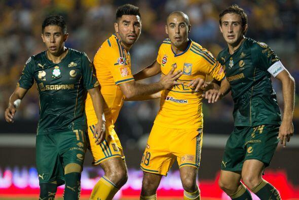 Santos le aplicó la 'maldición del superlíder' a los Tigres, el conjunto...