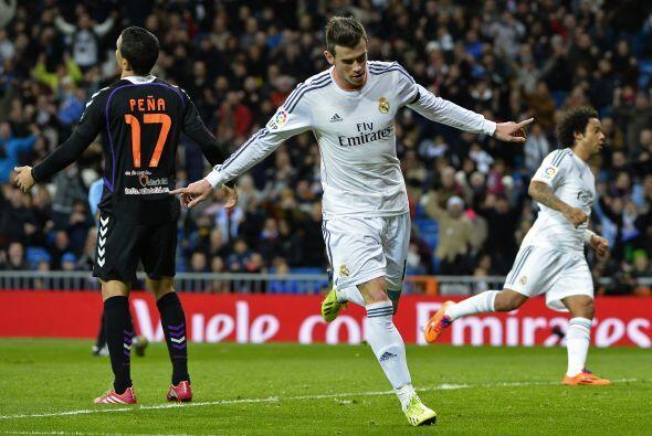 Gareth Bale marcó el primero lo que generaba tranquilidad en las tribuna...