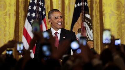 """Obama: """"Celebrar el 5 de mayo es reconocer el esfuerzo mexicano"""""""