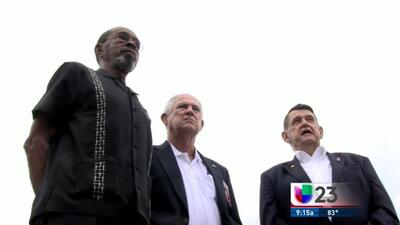Ellos bajaron la bandera de EEUU en Cuba en 1961