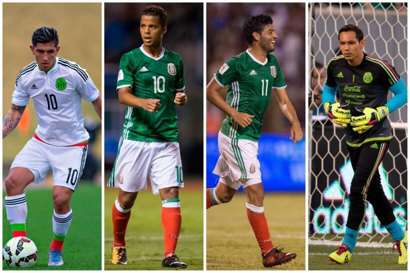 Así sería el 11 titular de México ante Bosnia Herze...