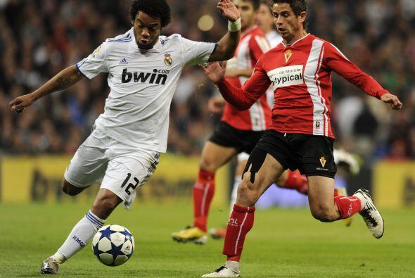 Los 'merengues' encaraban su segundo duelo ante el Murcia con el empate...