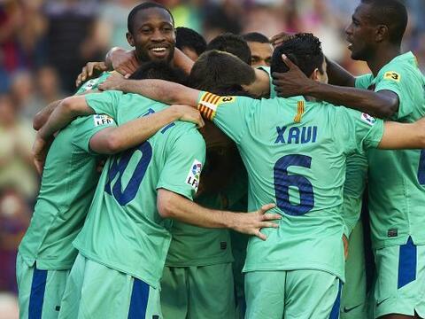 El Barcelona empató ante el Levante y se coronó como campe...