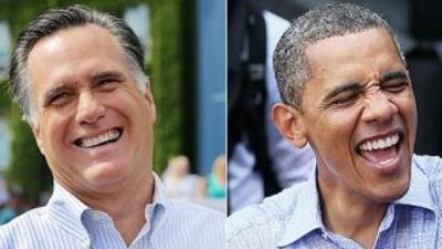 Mitt Romney ha ganado terreno entre los que perciben a Obama como un líd...