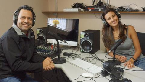 Omar y Argelia - Podcast Room