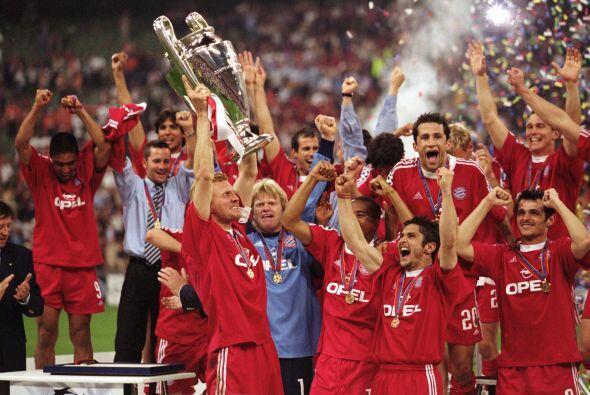 Para el 2001, el Bayern Munich se proclamó campeón al ganar 5-4 en penal...