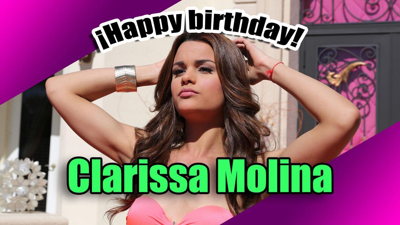 Clarissa celebra su cumpleaños 25 rodeada de mucho amor y &eacute...