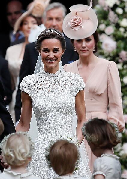Kate Middleton no le robó cámara a la novia, Pippa en primer plano, se l...