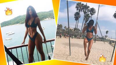Bárbara de Regil en bikini