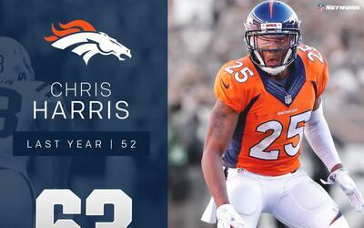 #63 Chris Harris Jr. (CB, Broncos) | Top 100 Jugadores 2017