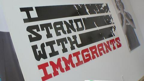 Así celebran los inmigrantes sus aportaciones al país gobernado por Trump