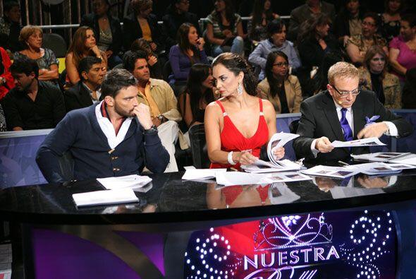 Aquí tienes a los tres jueces juntos, tal como los verás a lo largo dela...