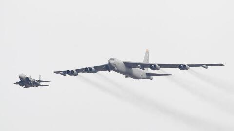 El B-52 de EEUU fue interceptado la mañana de este partes por un...