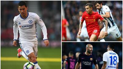Coutinho, Hazard, Mascherano y más rumores de fichajes en el fútbol internacional