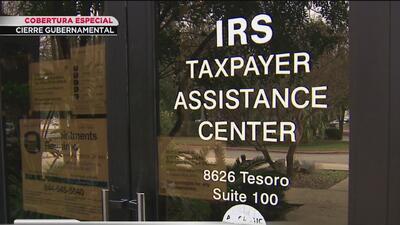 Cierre de gobierno también afecta a contribuyentes y trabajadores del IRS