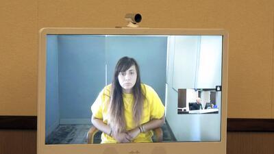 Obdulia Sánchez, de 18 años, se declaró inocente por seis cargos que le...