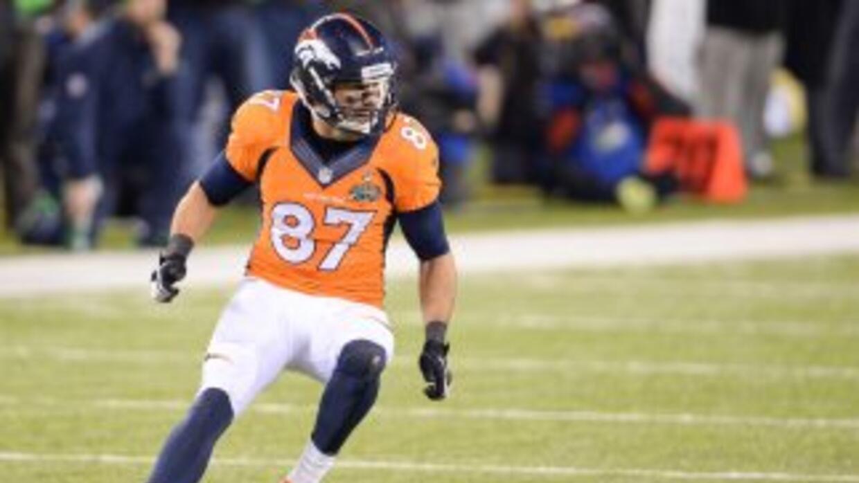 Eric Decker no seguirá en los Broncos (AP-NFL).