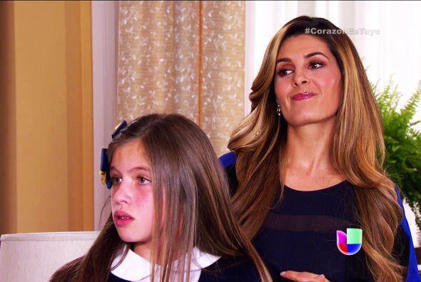 Pero ella es la más feliz de ver a Diego en romance con Ana.