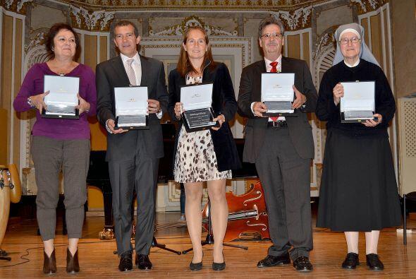 Banderas recibió un homenaje muy especial en su natal España.