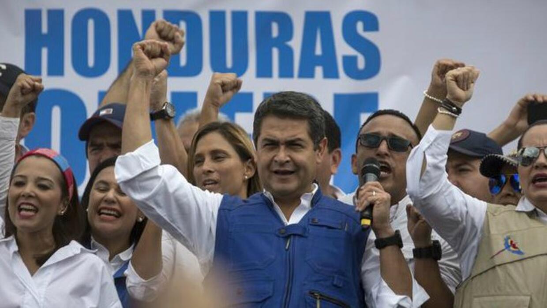Juan Orlando Hernández, presidente reelecto de Honduras.