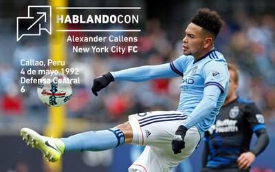 Alexander Callens - Hablando con...