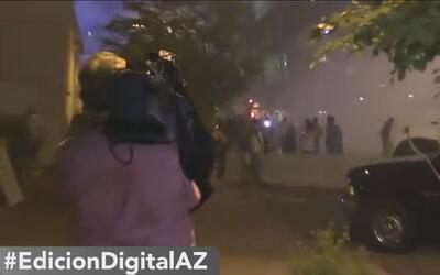 Se desata la violencia tras el discurso del presidente Trump en Phoenix