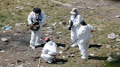 Los cuerpos hallados en primeras fosas no son las de Guerrero